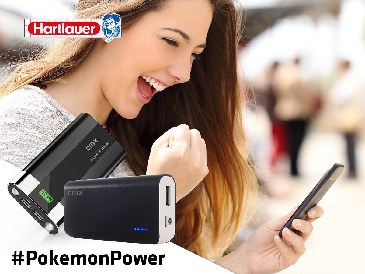 [Hartlauer][Pokemon Go] bis -50% auf eine Powerbank - je nachdem Stärke eures Pokemons