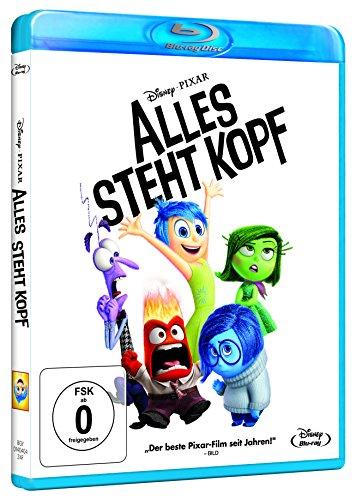 Alles steht Kopf Blu-Ray für 9,99€ mit [Amazon Prime] statt ca. 14€