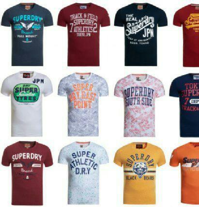 Superdry Herren-T-Shirts für 14,95€