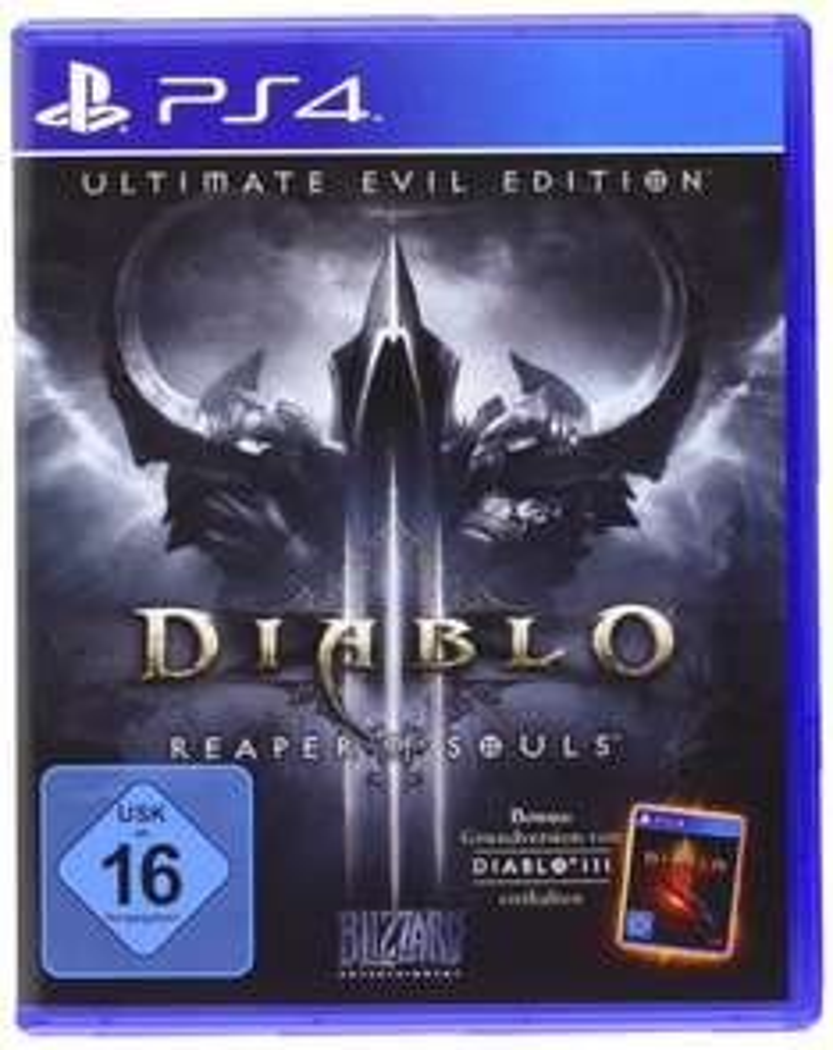 [Amazon.de][Prime] Diablo III - Ultimate Evil Edition (PS4) für 19,99€ - 37% sparen