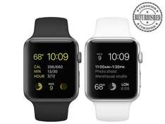 iBood: Apple Watch Sport 42 mm (Refurbished von Apple) für 293,95€