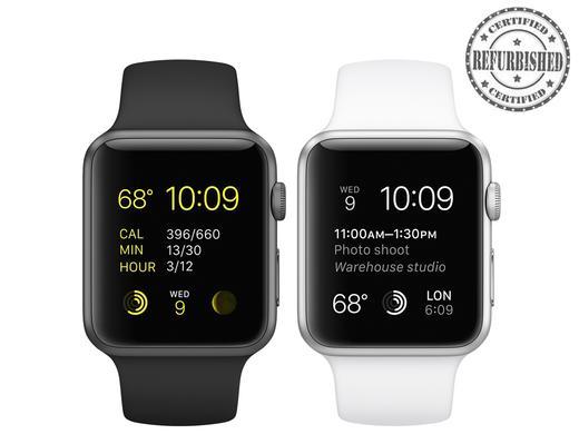 iBood: Apple Watch Sport 42 mm (Refurbished von Apple) für 293,95€