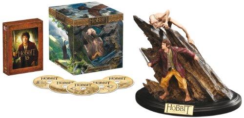 (Amazon Prime) Der Hobbit: Eine unerwartete Reise - Extended Edition 3D/2D Sammleredition (5 Discs, inkl. WETA-Statue) [3D Blu-ray] für 19,97€