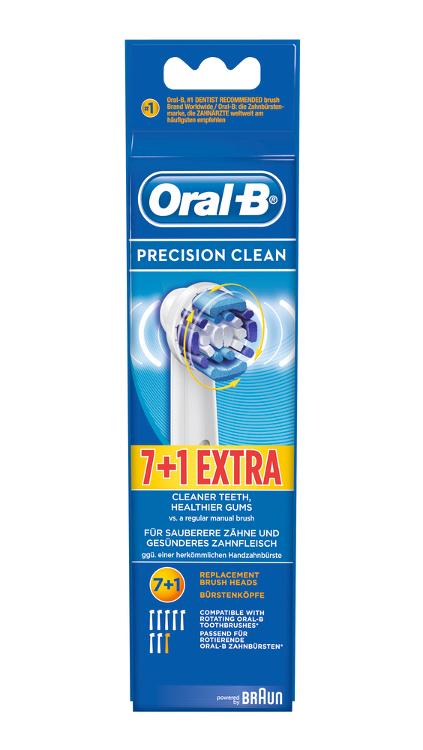 Oral B Aufsteckbürsten 7+1
