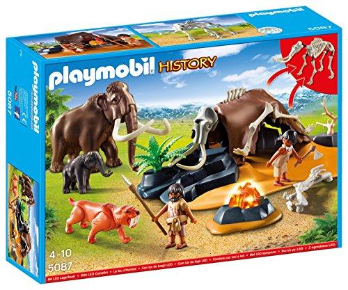 Playmobil 5087 - Steinzeitlager mit Feuer