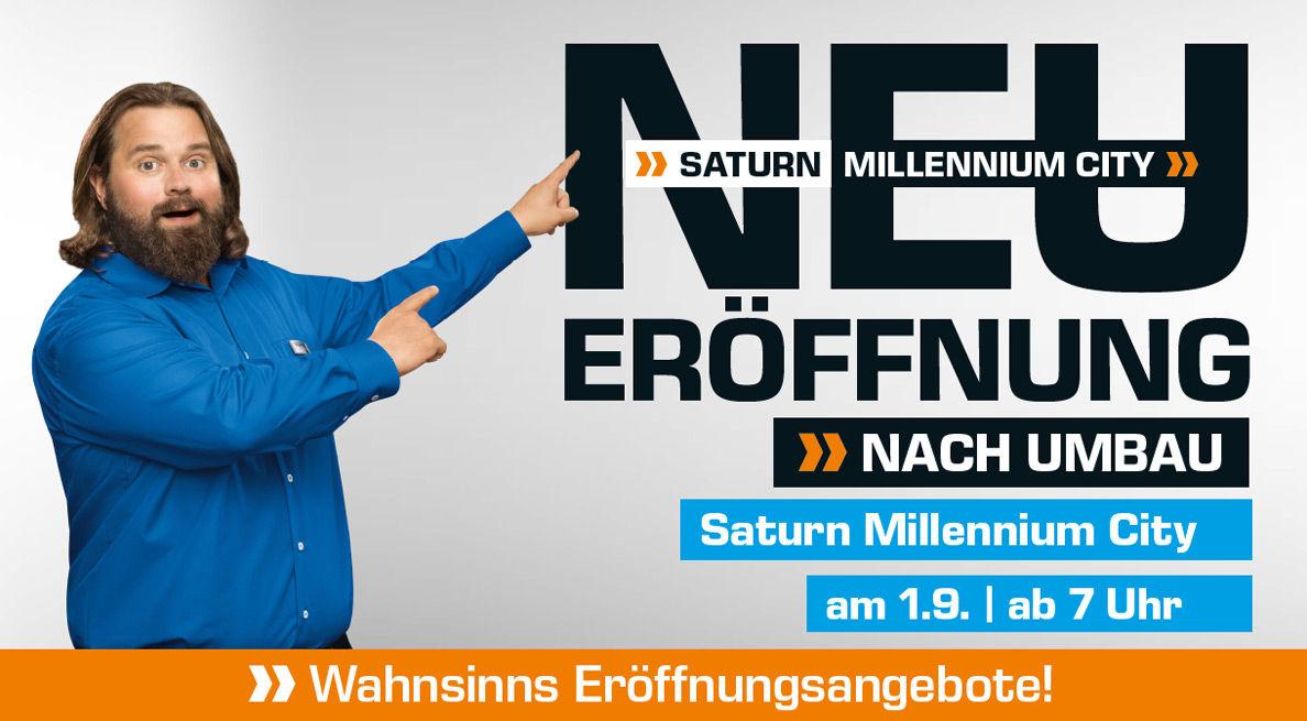 (Info) Saturn Wien Millenium City Neueröffnung am 1. September ab 7 Uhr