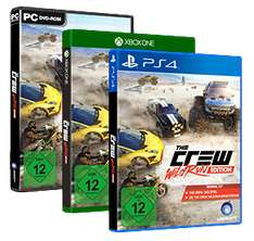 libro the crew wild run edition playstation 4 xbox. Black Bedroom Furniture Sets. Home Design Ideas