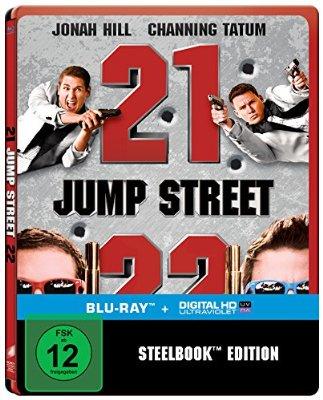 Bestpreis: 21 + 22 Jump Street Steelbook [Blu-ray]