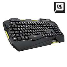 Blitz: Sharkoon Shark Zone K30 Gaming-Tastatur mit LED-Beleuchtung