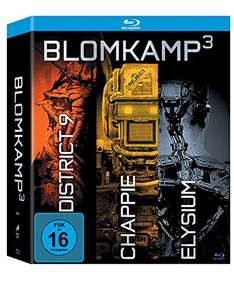 3-in-1: Chappie / District 9 / Elysium Digibook Edition [Blu-ray]