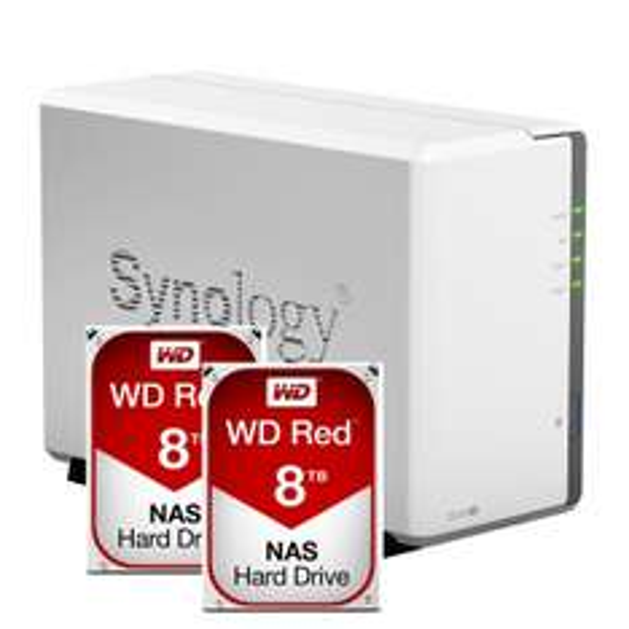 [Amazon.de] Preisfehler! SYNOLOGY DS216se NAS + 2x WD RED 8TB für 379,39€ - 52% sparen