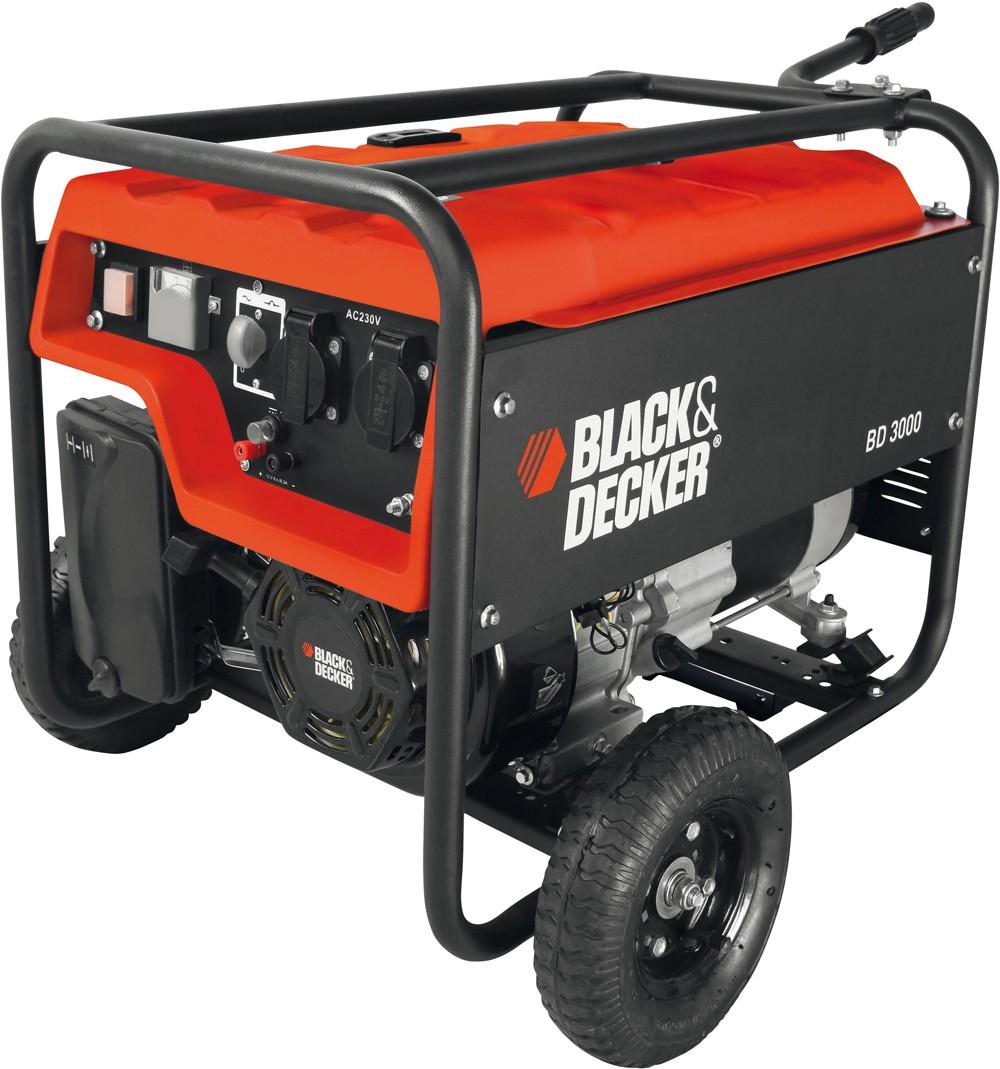 [Zgonc] Black&Decker BD 3000 Stromerzeuger für 304,90€ - 25% Ersparnis