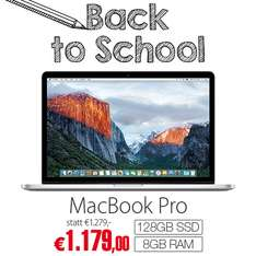 "Apple MacBook Pro 13.3"" (i5, 8GB, 128GB) - MF839D/A - um 1179 € - Bestpreis"