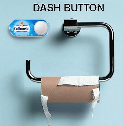 [www.AMAZON.de] Amazon Dash Button - Nach der ersten Bestellung € 4.99 Rabatt zurück bekommen für Prime-Mitglieder