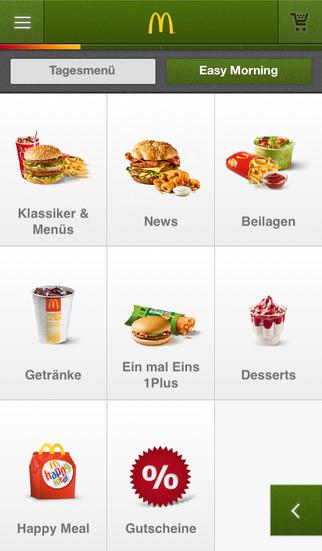 Neue McDonald's Gutscheine mit Quick Mac App schon heute gültig!