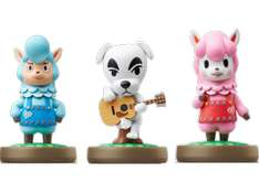 Saturn: Animal Crossing Amiibo 3er Set um 3€
