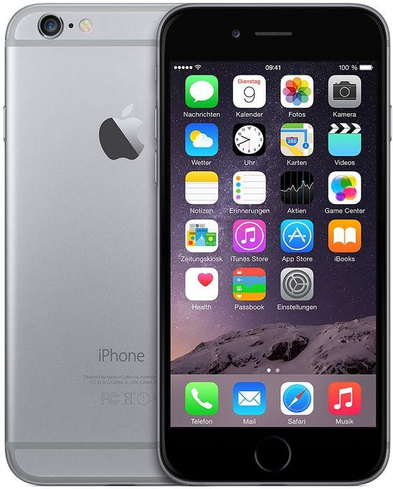 Amazon WHD: iPhone 6 (16 GB, grau) um 400 € - 27% sparen