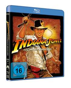 Thalia: Indiana Jones Box (Filme 1-4) (Blu-ray) für 11,30€
