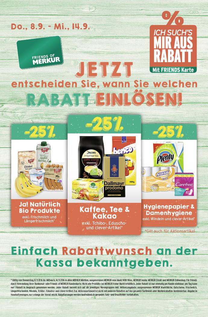 Lebensmittelhandel Angebotsübersicht 8.9.2016 - 14.9.2016