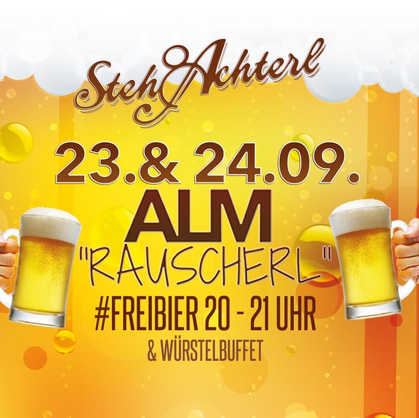 Stehachterl Wien - Freibier für eine Stunde am 23. und 24. September