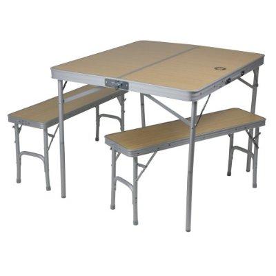 Mobiles Tisch-Bank-Set 4 Personen nur 29,18€ (PVG 73€)