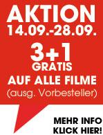 3 Blu-Rays um 15 € bei libro.at