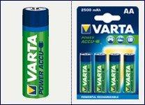 Amazon: 40x Varta Pro AA Akkus (1,2V, 2400mAh) um 23 € - 77% sparen