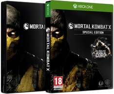 GamesOnly: Mortal Kombat X [D1 Special Steelcase Goro uncut Edition] (Xbox One) für 13,98€