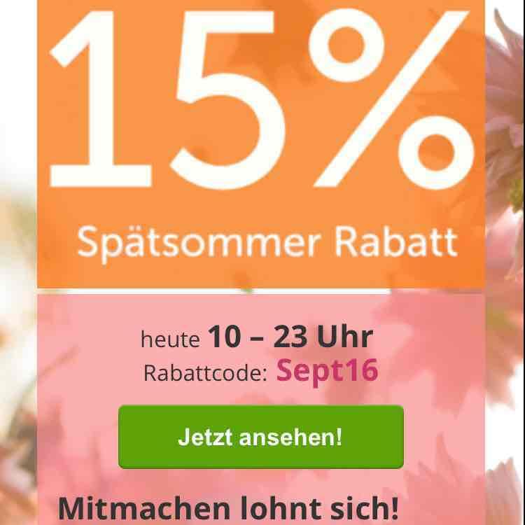 [Dailydeal.de] 15% Rabatt auf alle Deals
