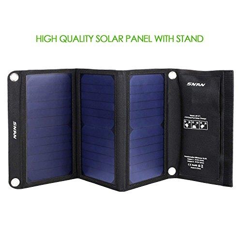 [AMAZON] 21W Solar Ladegerät Dual USB Ladeport 5V/2A 29,99€ anstatt 45,99€
