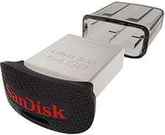 "SanDisk ""Ultra Fit"" USB 3.0 - 64 GB um 14,40 € - 128 GB um 24,90 €- 49% sparen"