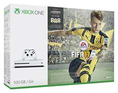 [Amazon.co.uk] Xbox One S 500GB - FIFA 17 Bundle für 236,99€ - 20% sparen