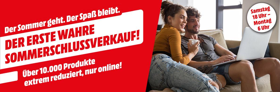 Media Markt Sommerschlussverkauf - über 10.000 Produkte reduziert! - nur bis zum 26. September