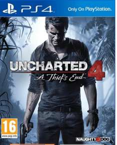 Uncharted 4 A Thiefs End um 25€