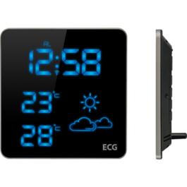 Wetterstation - Anzeige von Außen- und Innentemperatur + Uhrzeit - 35%