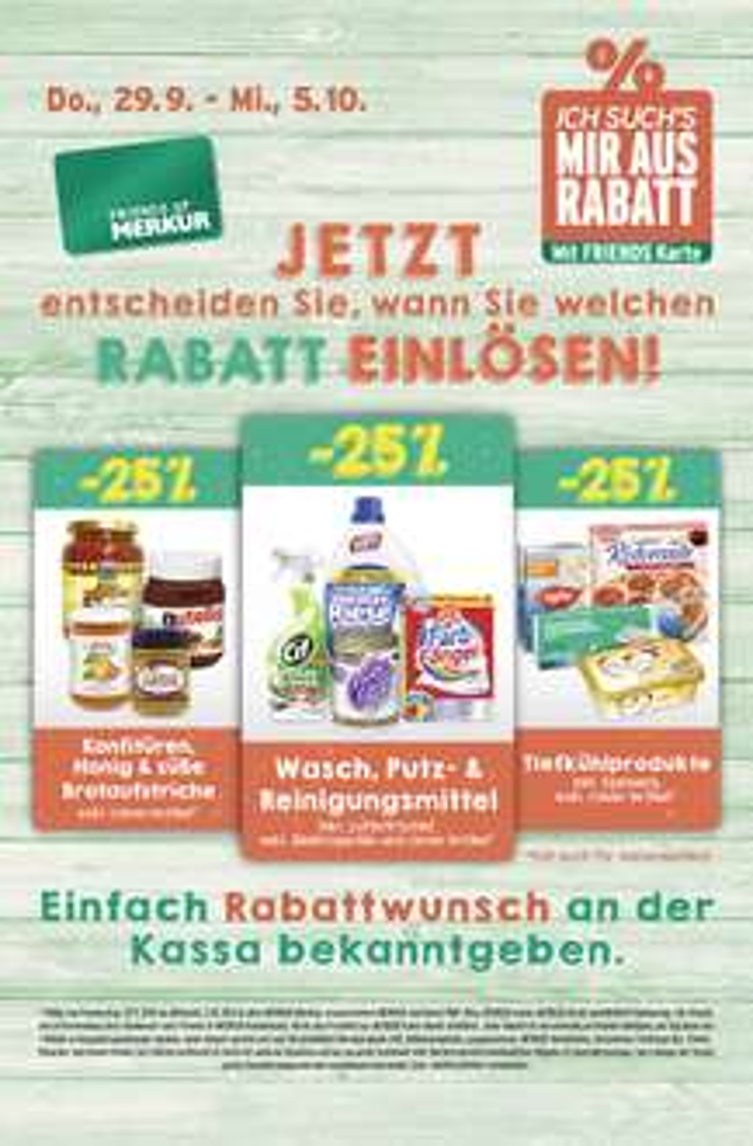 Lebensmittelhandel Angebotsübersicht 29.9.2016 - 5.10.2016