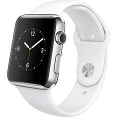 LogoiX: Apple Watch Sport (42mm, weiß) um 254 € - 22% sparen