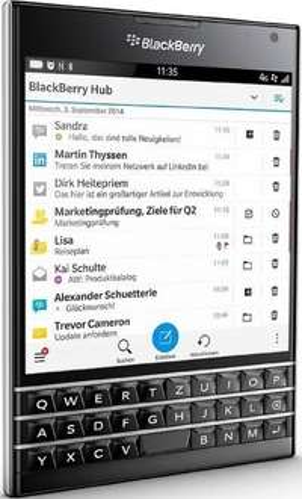 Amazon FR: BlackBerry Passport (QWERTZ) um 263 € - statt 361 €