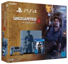 PS4 (1TB) Limited Uncharted Edition + Uncharted 4 um 299 € - 25% sparen
