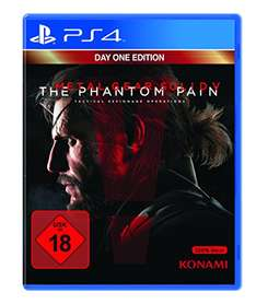 "Amazon: (PS4) Metal Gear Solid V ""The Phantom Pain"" um 13,24 € - 47% sparen"