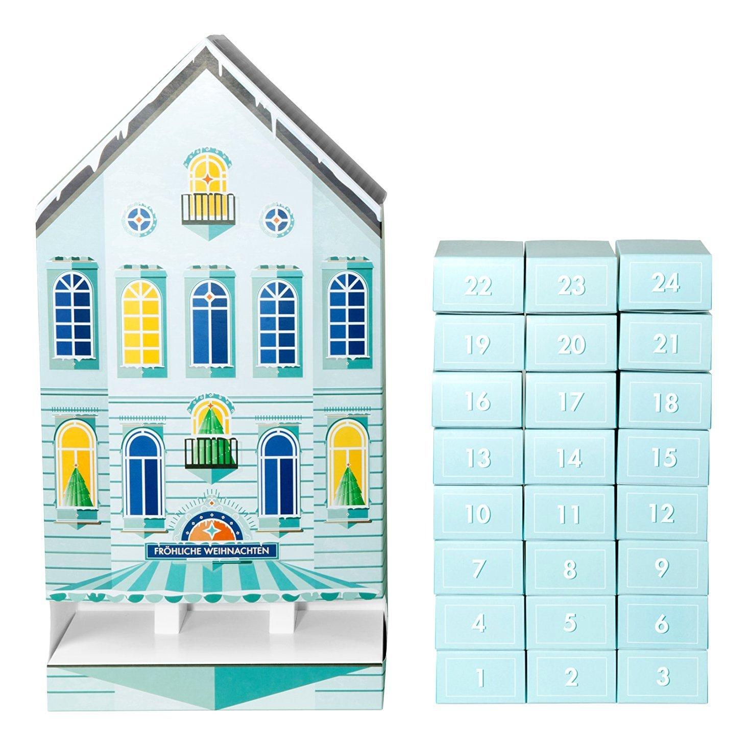 """Amazon.de - """"Gratis Adventskalender"""" zum Befüllen, blau ab 40 EUR Einkaufswert"""