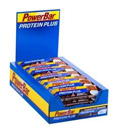 Powerbar Protein Plus Low Sugar Chocolate-Brownie  (30 Stück)