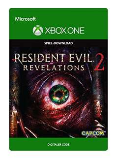 [Amazon] Resident Evil Revelations 2: Deluxe Edition Xbox One DL Code nur 9,99€ (-50%)