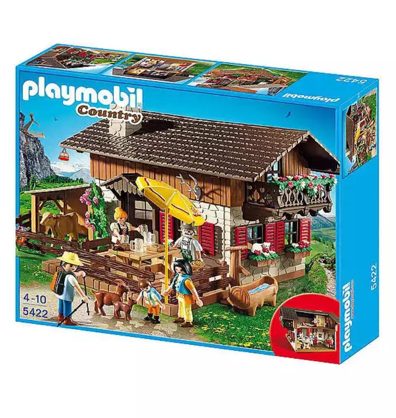 Playmobil 5422 Almhütte -50% günstiger