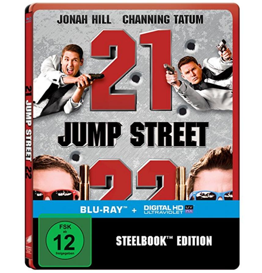21 + 22 Jump Street Steelbook [Blu-ray] für 12,07€ [Prime]