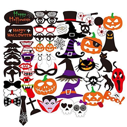 50 Halloween Foto Requisiten mit 33% Rabatt für 7,99€