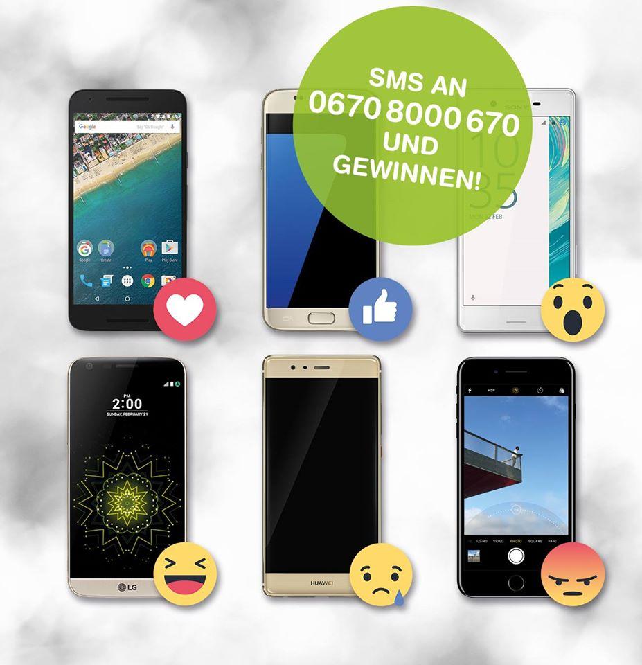 Spusu/Preisjäger Gewinnspiel: Smartphone + Jahresvertrag gewinnen
