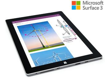 iBood: Microsoft Surface 3 - 32GB (Refurbished) für 355,90€