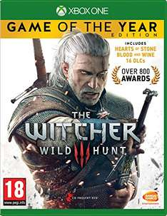 [Amazon.uk] The Witcher 3 Game of the Year Edition (Xbox One) für 30,07 EUR inkl. VSK