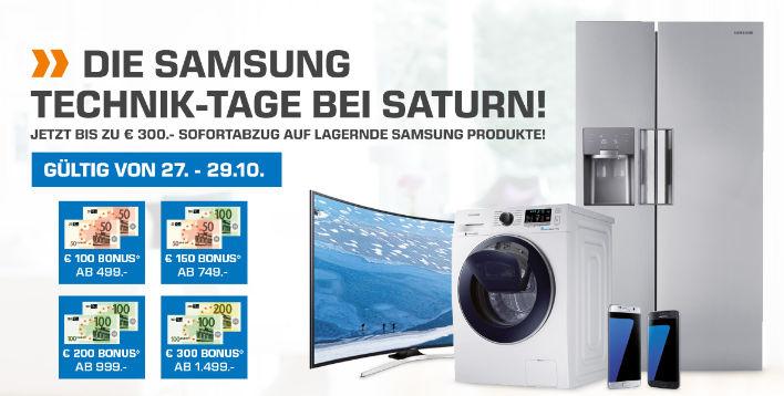 Samsung Technik Tage bei Saturn